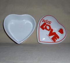 Artmark Chicago Valentine Ceramic Heart Jewel Trinket Box image 2
