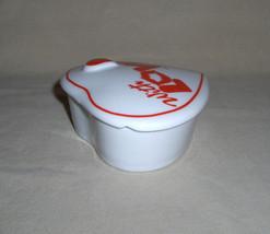 Artmark Chicago Valentine Ceramic Heart Jewel Trinket Box image 6