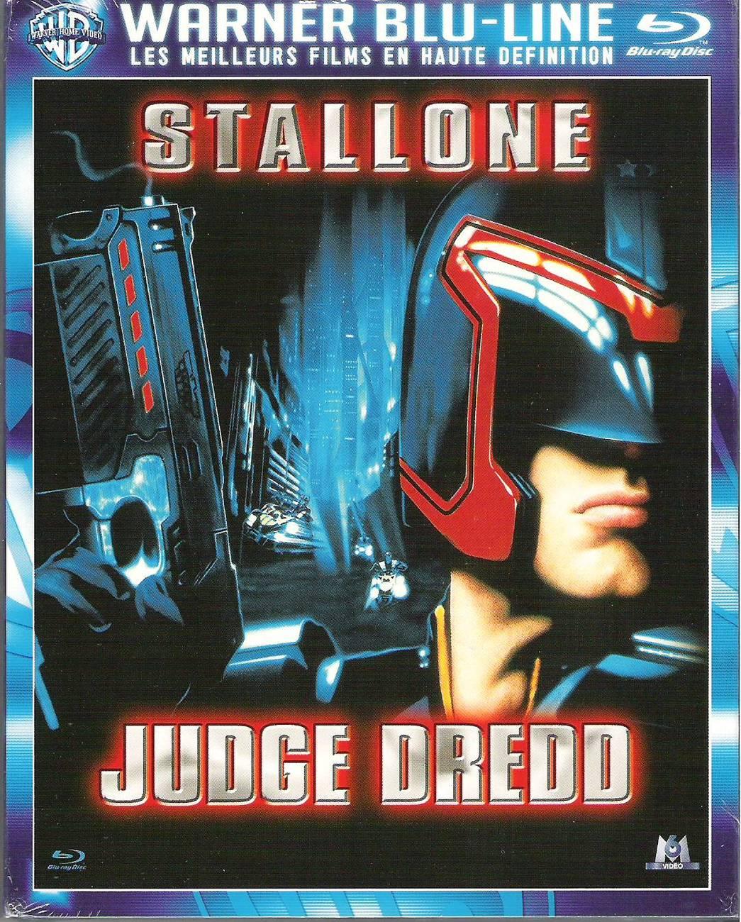 Judge Dredd (1995) Region B French Import Blu-ray Disc