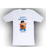Personalized Toy Story Mr Potato Head Birthday T-Shirt Gift  - $14.99