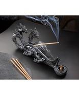 Triple-Head Dragon Incense Burner - $19.95
