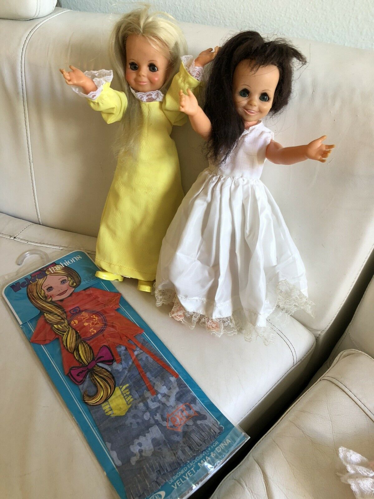 Primary image for Vintage 1970's Velvet & Mia dolls Mip Clothes