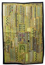 Mango Gifts Handmade Indian Vintage Ethnic Antique Look Wall Hanging Tra... - $108.90