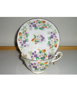 Royal Chelsea English Bone China Cup & Saucer - Discontinued Pattern - 1... - $417,05 MXN