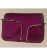 """MacBook Air soft case purple fits 13"""" laptops and tablets - $10.88"""