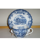 "Johnson Bros. English Ironstone Cup & Saucer - ""Hunting Country"" - Disco... - £16.21 GBP"