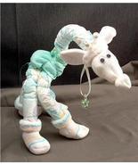 Green GIRAFFE Diaper Cake TOPPER Baby Shower De... - $28.00