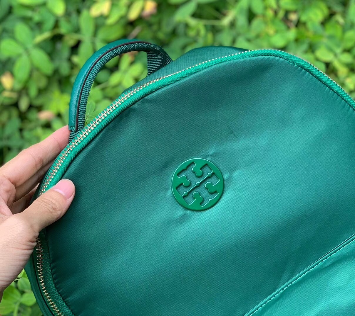 NWT Tory Burch Tilda Nylon Zip Backpack image 5