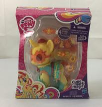 NIB My Little Pony Fashion Style Sunset Shimmer  Cutie Mark Magic / Free... - $14.95