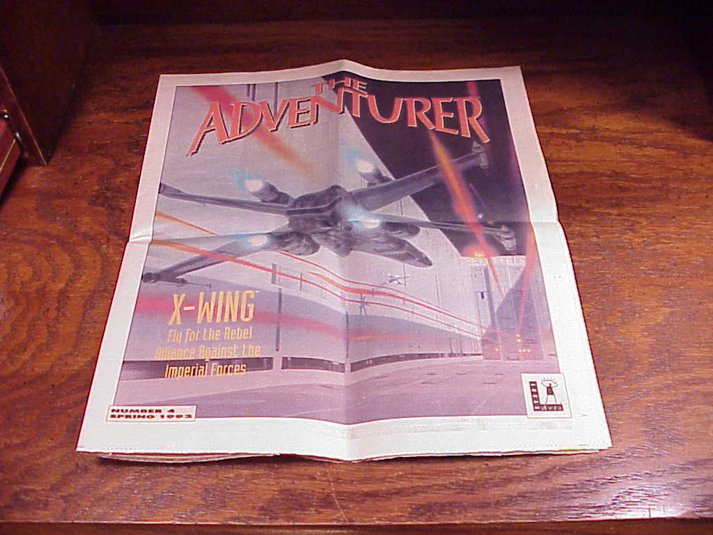 The Adventurer Magazine, Number 4, Spring 1992, from Lucas Arts