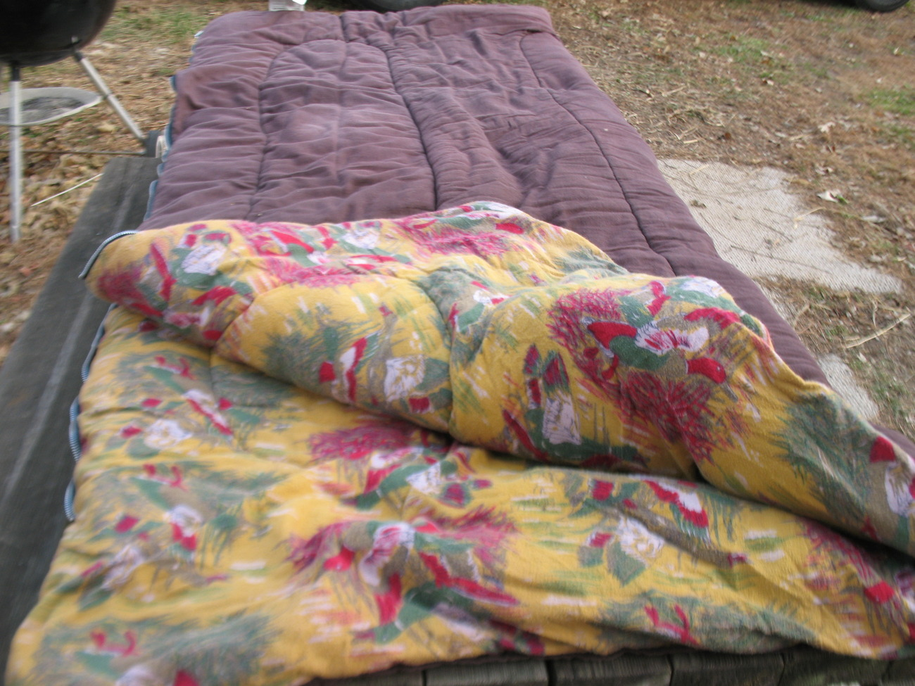 Vintage Montgomery Ward Sleeping Bag With And 50 Similar Items