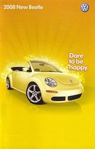 2008 Volkswagen NEW BEETLE brochure catalog US 08 VW S SE - $9.00