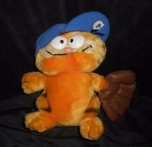 """9 """" Vintage R Dakin Baby Garfield W / Baseball Handschuh Plüschtier Plüsch - $17.23"""