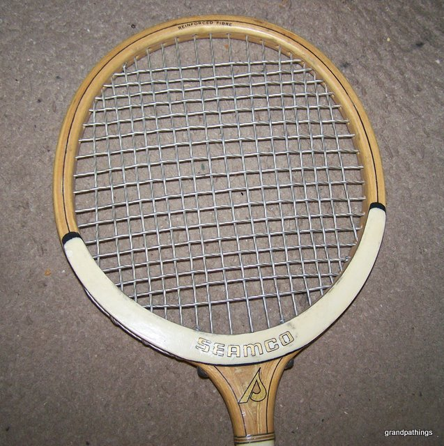 ANTIQUE RARE VINTAGE SMALL TENNIS RACKET OR SQUASH RACQUET