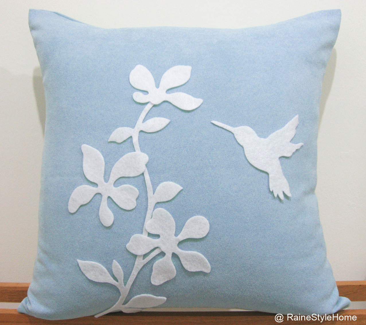 Spring blossom powder blue front