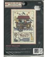 Counted Cross Stitch Kit Noah's Ark Welcome Fri... - $9.93