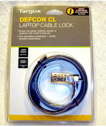 Targus Laptop Notebook Monitor Combination Cable Lock AntiTheft Device D... - $15.79