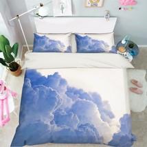 3D Sky Clouds 27 Bed Pillowcases Quilt Duvet Cover Set Single Queen King Size AU - $64.32+