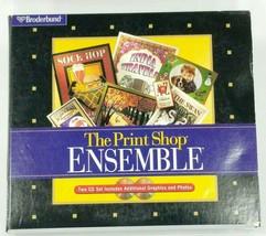 The Print Shop Ensemble Graphics Collection 2 Discs 1997 - $17.81