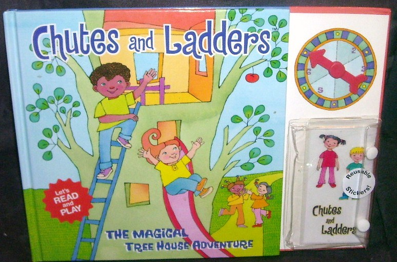 Chutes and ladders magical tree house adventure book