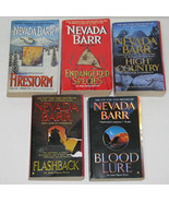 Lot of 6 PB books by Nevada Barr Mystery Thriller - $18.00