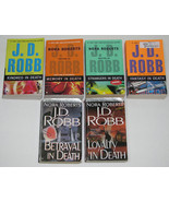 Lot of 7 PB books by J.D. Robb, In Death Series - $25.00