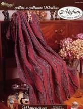Waverunner Afghan Tns Mile A Minute Crochet PATTERN/INSTRUCTIONS New - $1.59