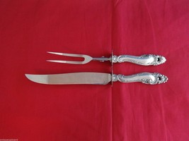 """Decor by Gorham Sterling Silver Roast Carving Set 2pc HHWS  13 1/2"""" - $389.00"""