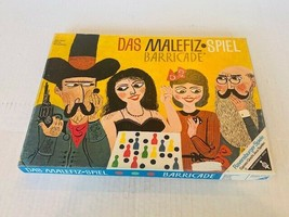 Das Malefiz vtg Board game Spiel Barricade Germany boardgame Ravensburge... - $49.45
