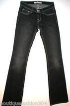 New Boot Cut Leg Jeans J brand Womens 24 Black Gray Ash Tall 25 X 34.5 3... - $36.00
