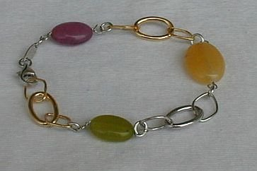 Italian quartz bracelet
