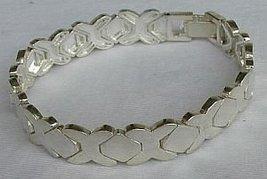 Unisex silver bracelet - $62.00