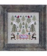 Woodland Tree Farm cross stitch chart Blue Ribbon Designs  - $8.10