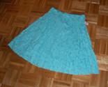 Sky blue textured circle skirt thumb155 crop