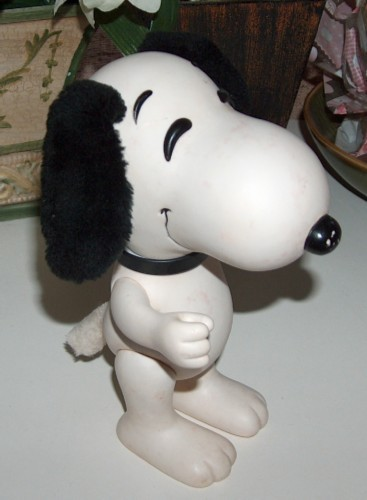 Primary image for Vintage Snoopy Rubber Figure United Feature Korea