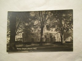 RPPC Oberlin Ohio Finney Chapel Real Photo OH Postcard - $4.99