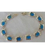 Turquoise silver bracelet - $51.00
