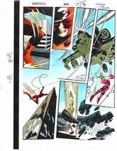 Original 1997 Colan Daredevil 368 Marvel color guide art page 10:X-Men Omega Red - $59.99