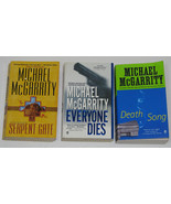 Lot of 3 PB books by Michael McGarrity, Mystery Thrillers - $15.00