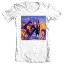 Giuffria Silk & Steel T-shirt 80's retro heavy glam metal cotton graphic tee image 2