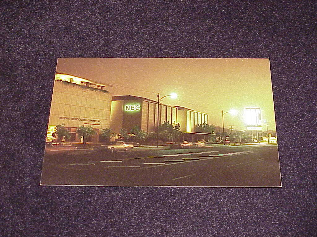 Primary image for  NBC - National Broadcasting Company Studios, Burbank, California Postcard