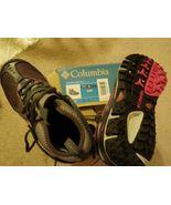 NIP Columbia Ravenice Omni-Tech Waterproof Black Cherry Women's Hiking Size 6.5 - $65.99