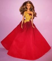 Barbie Happy Holidays 2016 Hispanic Brunette Peace Love Hope Model Muse Doll - $29.99