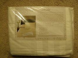 NIP Sferra Bros Luxury Hotel Collection 500TC Jacquard King Sheet Set Iv... - $356.39
