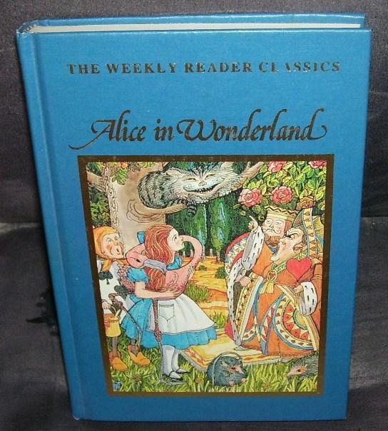 Alice in wonderland weekly reader vintage book
