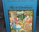 Alice in wonderland weekly reader vintage book thumb155 crop