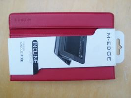 New Microfiber Leather M-EDGE INCLINE JACKET CASE KINDLE FIRE -RED - $12.99