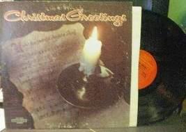 Christmas Greetings - Various Artists - Columbia CSS 1433 - $3.00