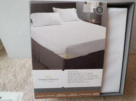 Threshold Waterproof Stain Spill resistant hypoallergenic Memory Foam Cover Full - $35.99