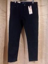 Levis Girls Denim Legging Adjustable Waist Dark Blue Jeans NWT Sz(12 1/2... - $13.99
